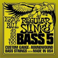 Струны для 5-ти струнной бас гитары ERNIE BALL 2836 Regular