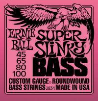 Струны для 4-х струнной бас гитары ERNIE BALL 2834 Super