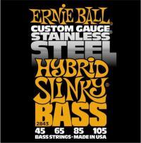 Cтруны для 4-х струнной бас гитары ERNIE BALL 2843 Hybrid