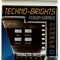 Струны для электрогитары Thomastik TB111 Techno-Brights