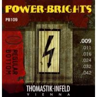 Струны для электрогитары Thomastik PB109 Power-Brights