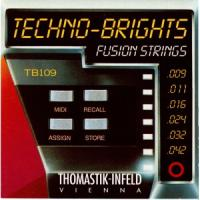 Струны для электрогитары Thomastik TB109 Techno-Brights