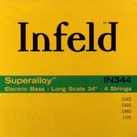 Струны для 4-струнной бас-гитары Thomastik IN344 INFELD Bass