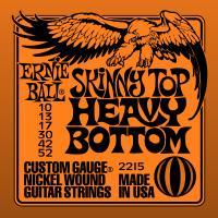 Струны для электрогитары ERNIE BALL 2215 Skinny Top Heavy Bottom