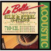 Струны для двенадцатиструнной акустической гитары La Bella 710-12L