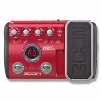 Купить процессор эффектов для бас-гитар ZOOM B2.1U с педалью
