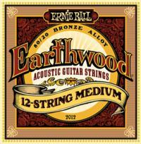 Струны для 12-ти струнной акустической гитары ERNIE BALL 2010