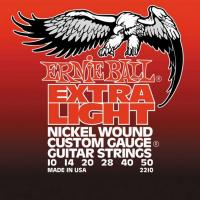 Струны для электрогитары ERNIE BALL 2210 Extra Light