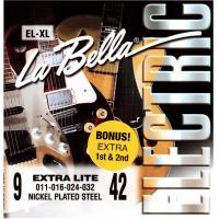Струны для электрогитары La Bella EL-XL