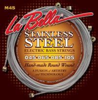 Струны для 4-струнной бас-гитары LA BELLA M45 Standart Light
