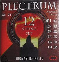 Струны для двенадцатиструнной акустической гитары Thomastik Plectrum AC211