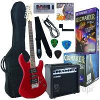 Купить Гитарный набор YAMAHA ERG 121GPII цвет синий/краный