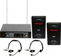 купить адиосистема с 2-мя головными микрофонами KRV-202/KLT-80V/HT-1A