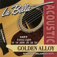 Струны для акустической гитары La Bella 40PT