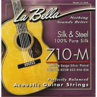 Струны для акустической гитары La Bella 710 M