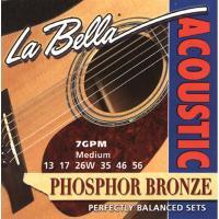 Струны для акустической гитары La Bella 7GPM
