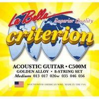 Струны для акустической гитары La Bella C500M