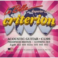 Струны для акустической гитары La Bella C520S