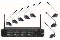 Купить в интернете  Радиосистема OPUS UHF-808 с 8-ю микрофонами для конференц св
