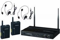 Купить в интернете Радиосистема OPUS UHF-922HS с 2-мя головными микрофонами