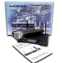 Радиосистема OPUS UHF-988HH с 2-мя ручными микрофонами
