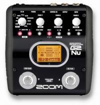 Купить процессор эффектов для электрогитар ZOOM G2NU + AC в Москве